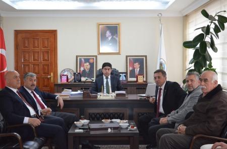 belediye başkanlarından ziyaret