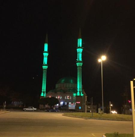fatih camii aydınlatmamız